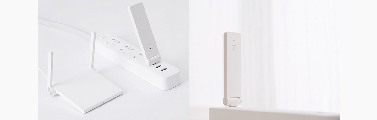Original XiaoMi Mi WiFi Amplifier for Mi Router Mini English Version- White English Version