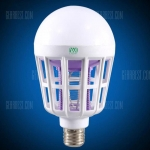 YWXLight E27 LED Mosquito Killer Lamp Bulb – WHITE in offerta a €3.39 || Gearbest