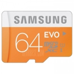 Samsung 64GB EVO Class 10 Micro SDXC – 64GB ORANGE in offerta a €16.57 su Gearbest
