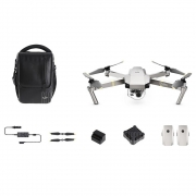 DJI Mavic Pro Platinum Foldable RC Quadcopter – RTF – PLATINUM FLY MORE COMBO in offerta a €1,052.43 || Gearbest