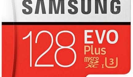 Scheda di Memoria Micro SDHC di Samsung UHS-1 Class10 128GB in offerta a €16.28    Gearbest