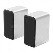 Xiaomi Wireless Bluetooth Computer Speaker 2pcs – SILVER in offerta a €87.04 || Gearbest