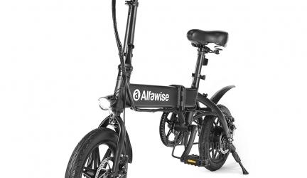 Alfawise X1 Bicicletta elettrica pieghevole in offerta a €403.62    Gearbest