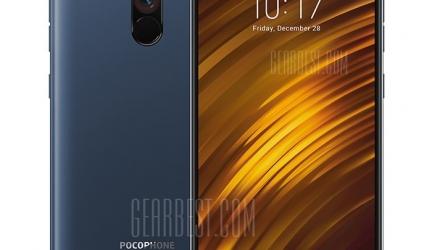Xiaomi Pocophone F1 6+64GB Global – Blu in offerta a €283.19    Gearbest da Magazzino Europa – Consegna in 3-7 giorni lavorativi