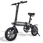 Alfawise X1 Bicicletta Elettrica Pieghevole E-bike con Motore da 250W Velocità 25 Km/h in offerta a €566.99 || Gearbest da Magazzino Europa – Consegna Rapida