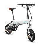 FIIDO D1 Bicicletta Elettrica Pieghevole – BIANCA 10.4AH BATTERIA in offerta a €433.64 || Gearbest da Magazzino Europa – Consegna in 3-7 giorni lavorativi