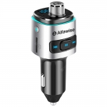 Alfawise QC3.0 Bluetooth 4.2 Caricabatteria da Auto + Trasmettitore FM in offerta a €10.79 || Gearbest