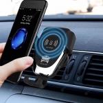 Gocomma 10W QI Wireless Fast Charger Car Mount Holder in offerta a €6.74 || Gearbest