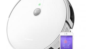 Alfawise V8S PRO E30B Robot Aspirapolvere Intelligente Lavaggio Controllo Vocale Supporta Google Home Amazon Alexa in offerta a €182.07 || Gearbest
