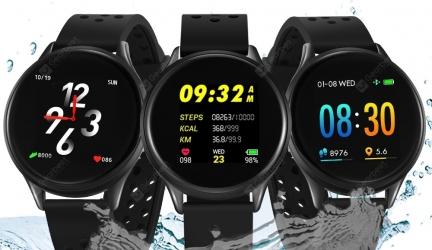 Bilikay SN58 Waterproof Bluetooth Smart Watch Fitness Tracker in offerta a €18.29 || Gearbest
