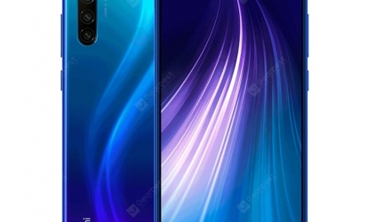 Redmi Note 8 4+64 Blue in offerta a €144.47 || Gearbest