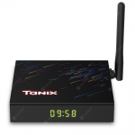 Tanix H3 Smart 4K TV Box con HiSilicon Hi3798MV130 Android 9.0 2,4GHz + 5GHz Dual-WiFi 100Mbps Bluetooth 4.0 Netflix Google Play H.264 H.265 HDR10 Supporta 4K 60fps in offerta a €35.68    Gearbest