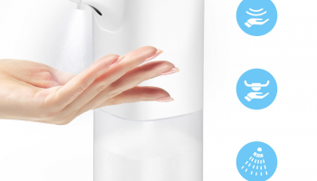 Xiaowei X6S 350ml Automatic Alcohol Spray Dispenser IR Sensor in offerta a €16.50 || Banggood