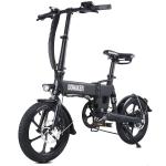 Bicicletta elettrica pieghevole 250W DOHIKER con ruote da 16 pollici, Batteria ricaricabile agli ioni di litio da 36 V 7,5 Ah – Nero in offerta a €539.99 || Gearbest da Magazzino Europa – Consegna Rapida