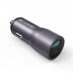 BlitzWolf® BW-SD4 36W QC3.0 PD2.0 Type C + USB Ports Mini Car Charger in offerta a €7.20    Banggood
