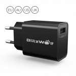 BlitzWolf® BW-S9 18W USB Charger EU US UK AU Adapter in offerta a €5.39 || Banggood