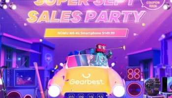 Arriva il Gearbest September Mega Sale! Promo e sconti speciali giornalieri per due settimane!